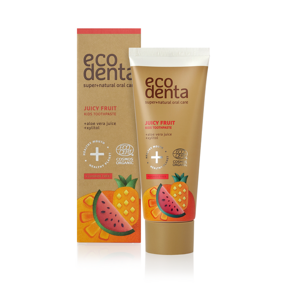 Bilde av ECODENTA Organic Juicy Fruit Kids Toothpaste