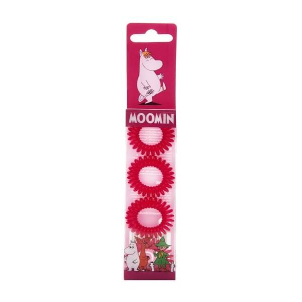 Bilde av Moomin Hair Ring Red 4 stk/pk
