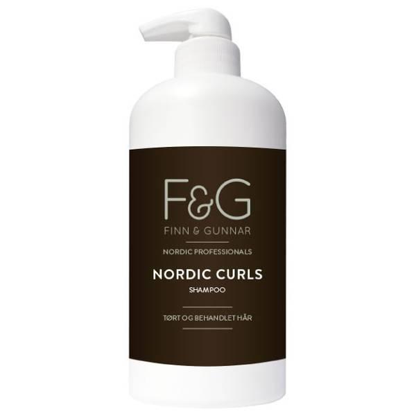 Bilde av F&G Nordic Professionals Curls Shampoo 500ml